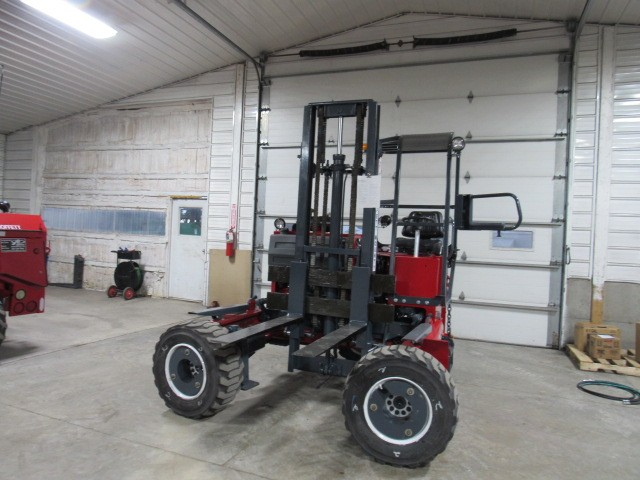 Used, 2006, Moffett, M5000  4 Way, Forklifts / Lift Trucks