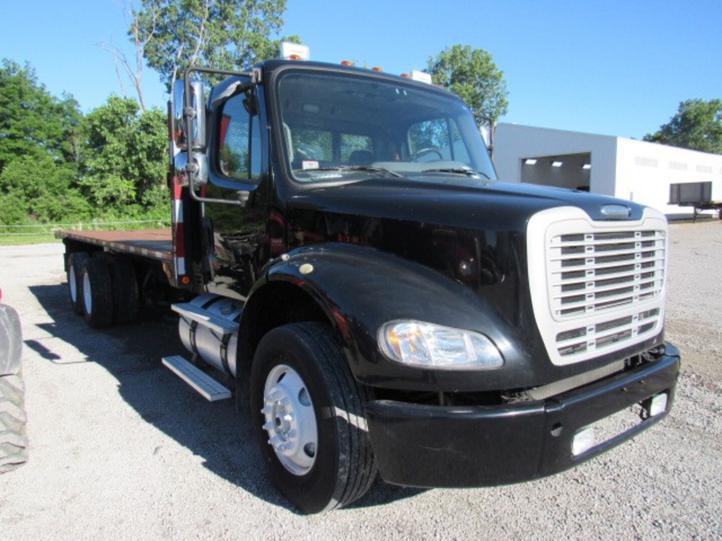 Used, 2010, Freightliner, M2 112 Business Class, Flatbed Trucks