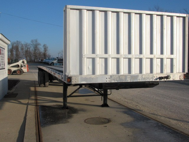 Used, 2012, Utility, 48' X 102 Aluminum/Steel Combo Flatbed Trailer, Flatbed Trailers