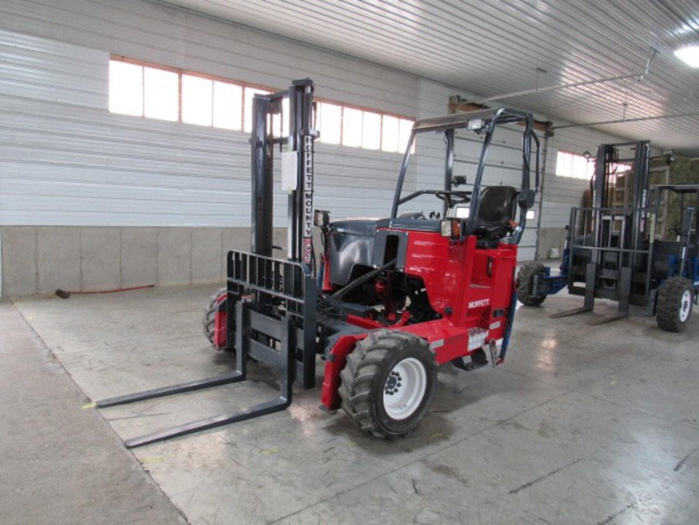 Used, 2016, Moffett, M5 50.3  2 Way, Forklifts / Lift Trucks
