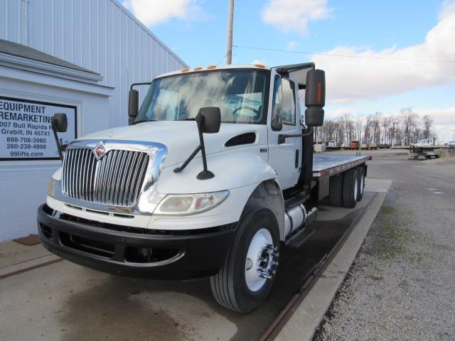 Used, 2012, International, DuraStar 4400, Flatbed Trucks