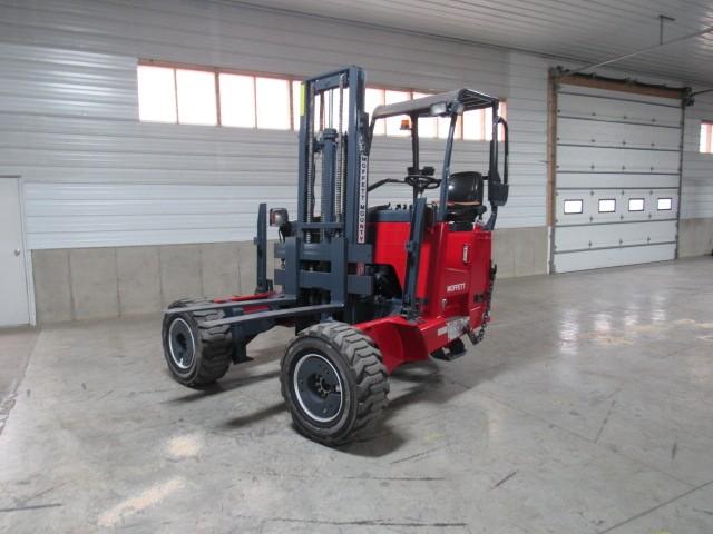 Used, 2011, Moffett, M55.4  4 Way, Forklifts / Lift Trucks
