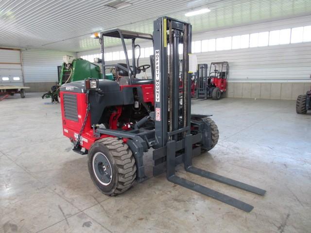 Used, 2007, Moffett, M55.4  4 Way, Forklifts / Lift Trucks