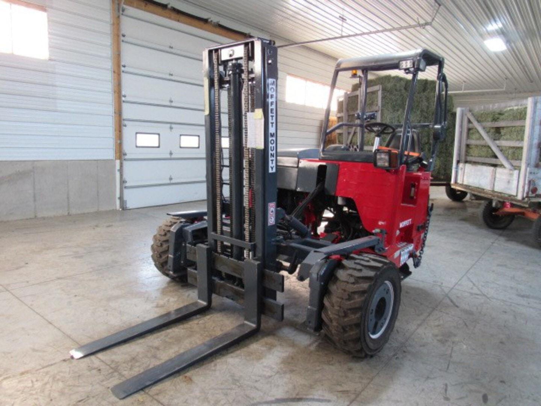 Used, 2008, Moffett, M55.4  4 Way, Forklifts / Lift Trucks