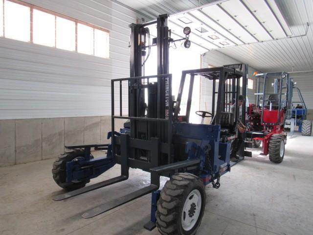 Used, 2006, Princeton, E2-3RVX  4 Way, Forklifts / Lift Trucks