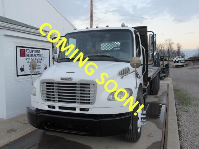 Used, 2012, Freightliner, M2 106, Flatbed Trucks