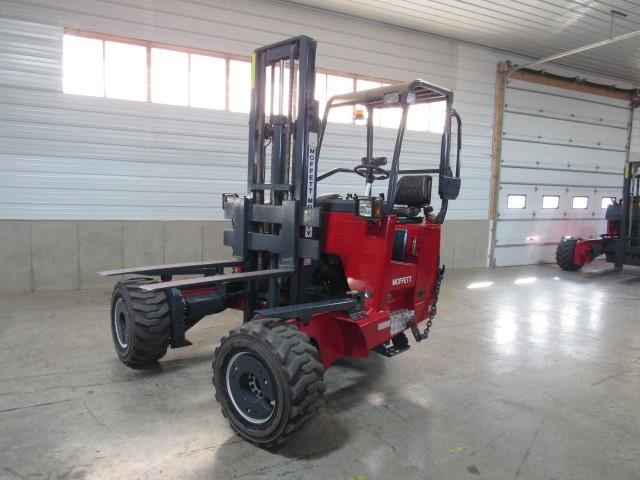 Used, 2006, Moffett, M55.4  4 Way, Forklifts / Lift Trucks