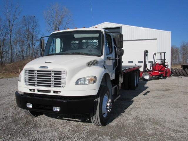 Used, 2013, Freightliner, M2, Flatbed Trucks