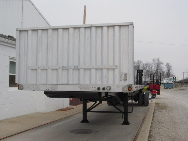 Used, 2012, Utility, 45' X 102 Aluminum/Steel Combo Flatbed Trailer, Flatbed Trailers