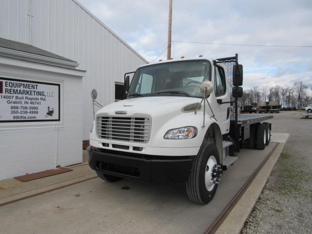 Used, 2011, Freightliner, M2 106, Flatbed Trucks