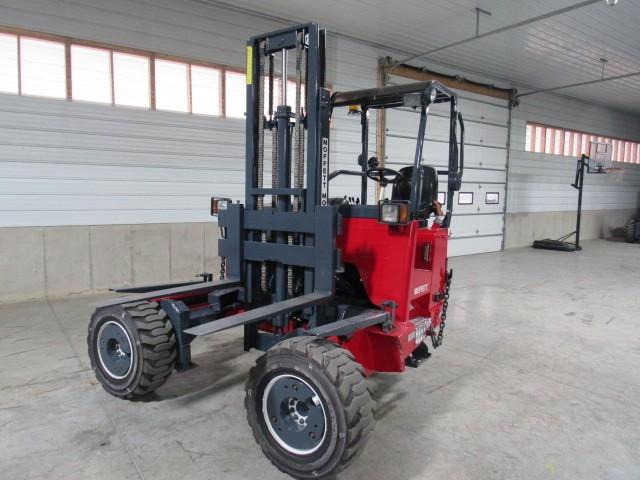 Used, 2012, Moffett, M55.4  4 Way, Forklifts / Lift Trucks