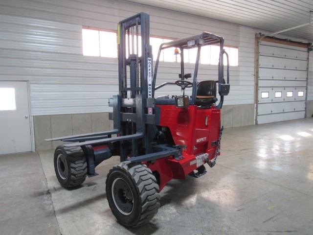 Used, 2013, Moffett, M55.4  4 Way, Forklifts / Lift Trucks