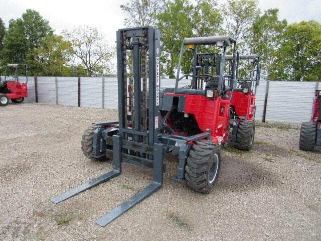Used, 2014, Moffett, M55.4  4 Way, Forklifts / Lift Trucks