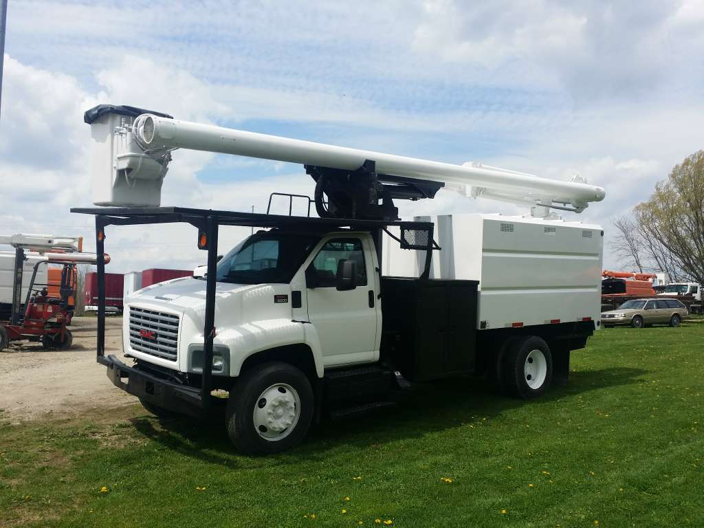 Used, 2005, GMC, C6500, Bucket / Boom Trucks
