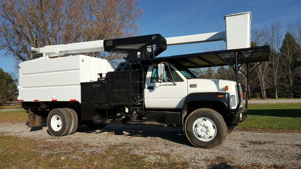 Used, 2002, GMC, C6500, Bucket / Boom Trucks