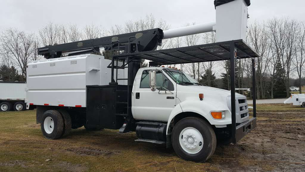 Used, 2005, Ford, F750, Bucket / Boom Trucks