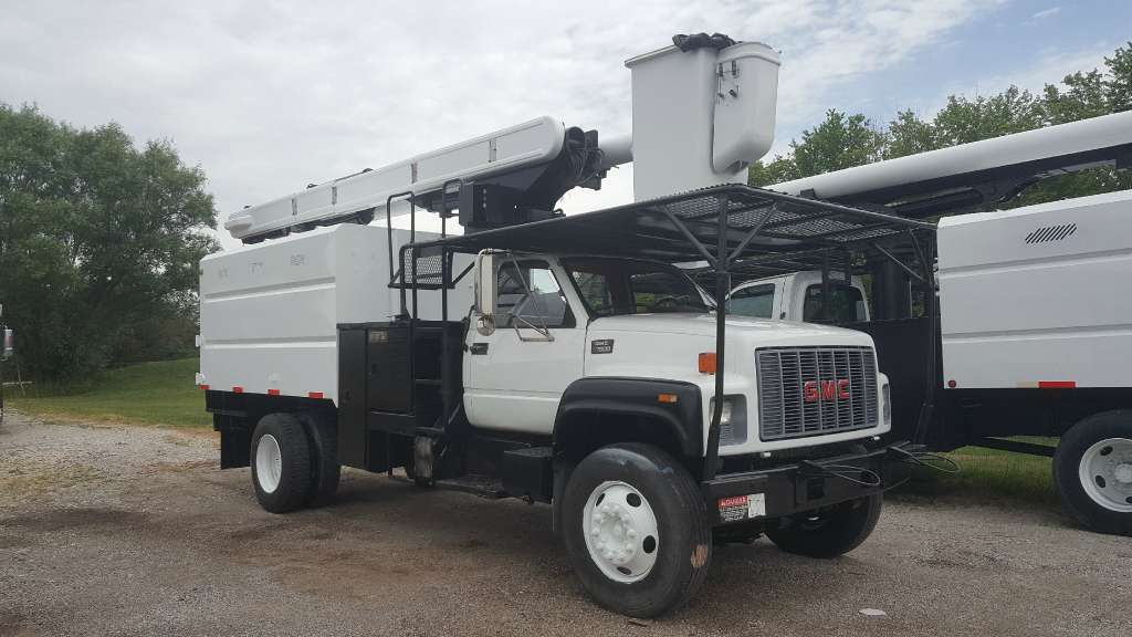 Used, 1997, GMC, C 7500, Bucket / Boom Trucks