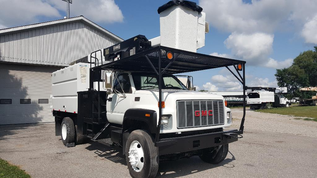 Used, 2002, GMC, C7500, Bucket / Boom Trucks
