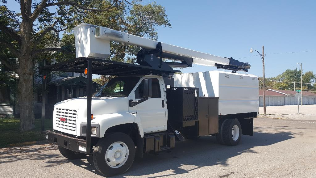Used, 2006, GMC, C7500, Bucket / Boom Trucks