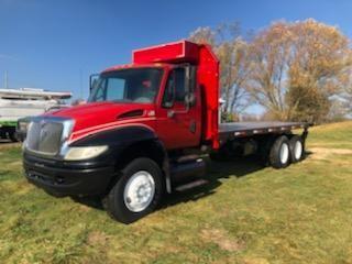 Used, 2006, International, 4400 Moffett Truck, Flatbed Trucks