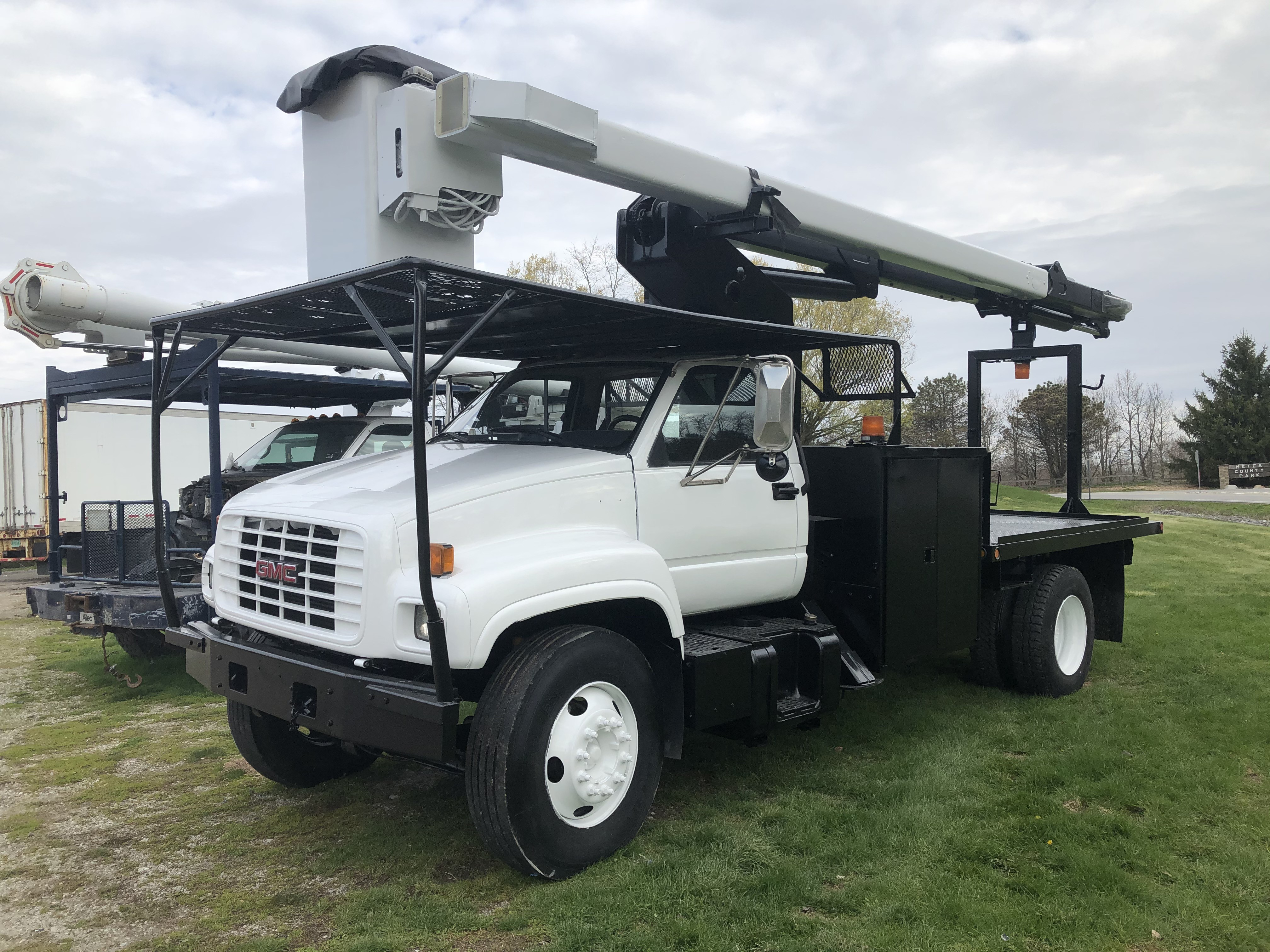 Used, 1999, GMC, C7500, Bucket / Boom Trucks