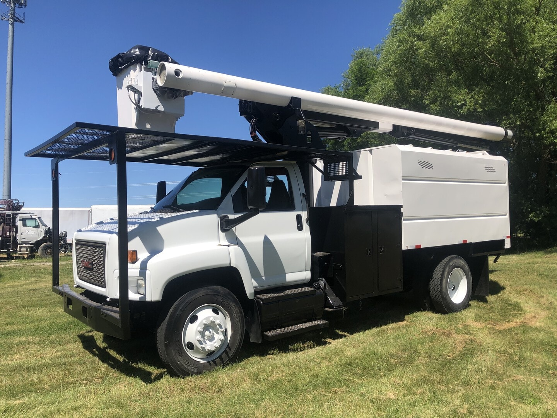 Used, 2008, GMC, C 7500, Bucket / Boom Trucks
