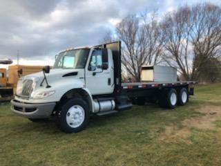 Used, 2013, International, 4400 Moffett Truck, Flatbed Trucks