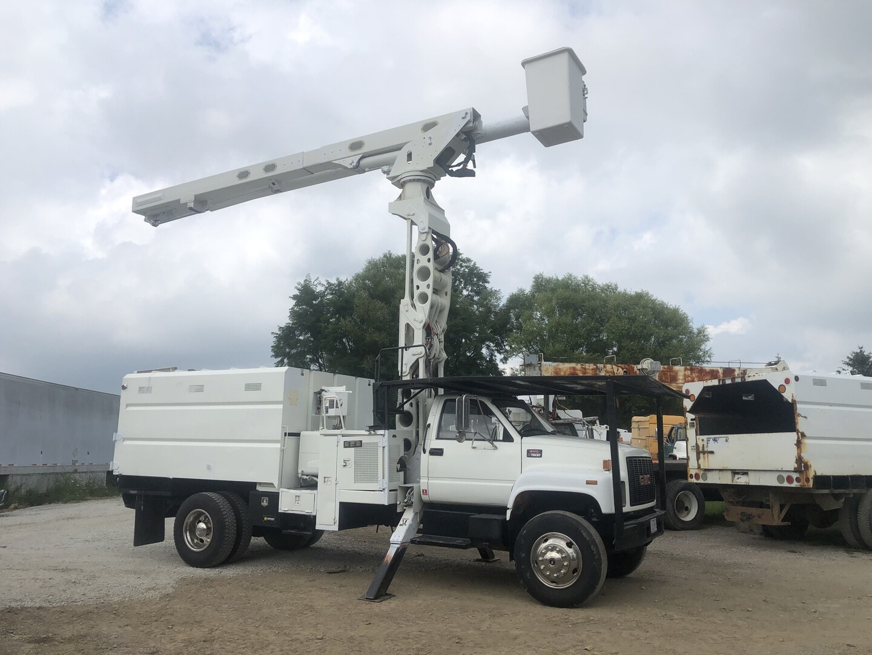 Used, 2006, GMC, C7500, Bucket / Boom Trucks