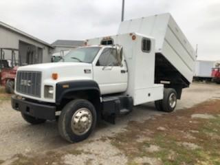 Used, 1999, GMC, C6500 Forestry Chipper Dump Truck, Dump Trucks