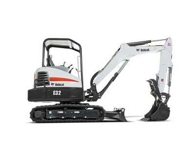 2010, Bobcat, E32, Excavators