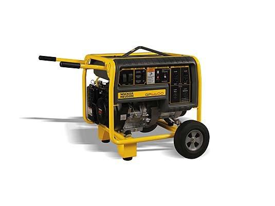 2011, Wacker Neuson, GP 6600A with Wheel Kit (0620101), Generators