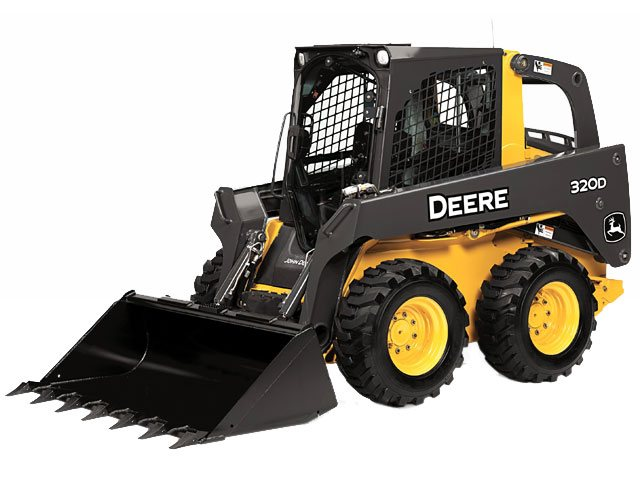 2013, John Deere Construction, 320D, Skid Steers