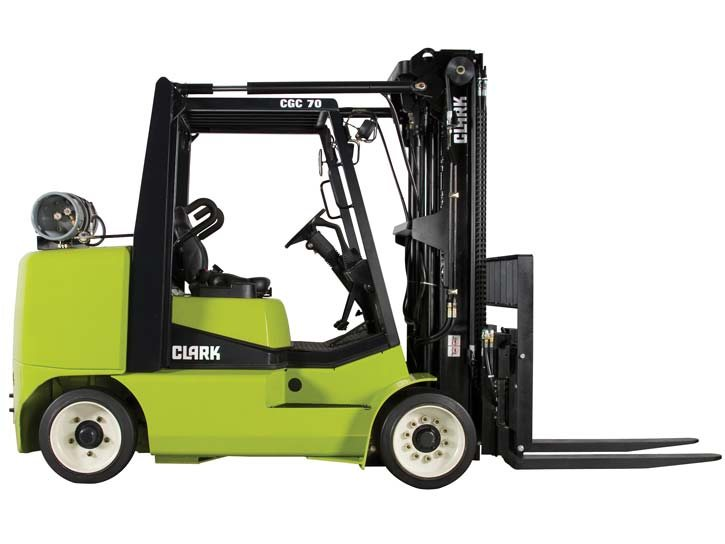 Used, 2015, CLARK, CGC70, Forklifts / Lift Trucks