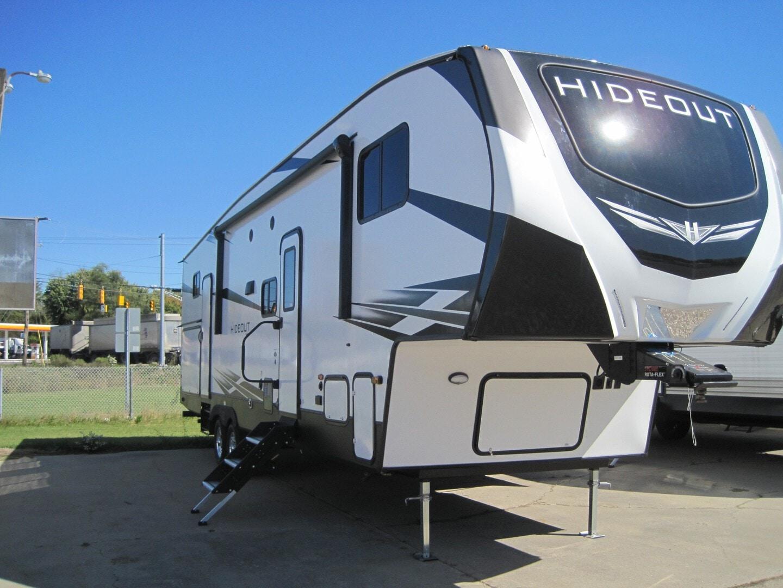 New, 2021, Keystone, Hideout (Fifth Wheel) 308BHDS, Fifth Wheels
