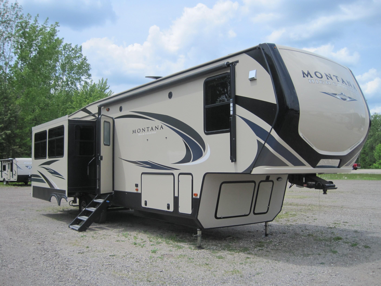 Used, 2019, Keystone, Montana High Country 331RL, Fifth Wheels