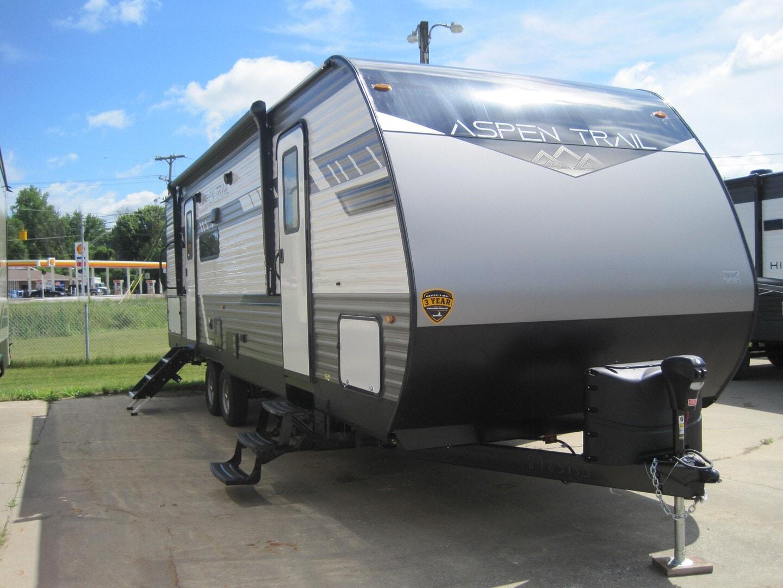 New, 2021, Dutchmen, Aspen Trail 2850BHS, Travel Trailers