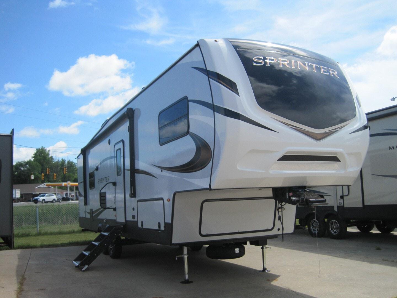New, 2021, Keystone, Sprinter Campfire 29BH, Fifth Wheels