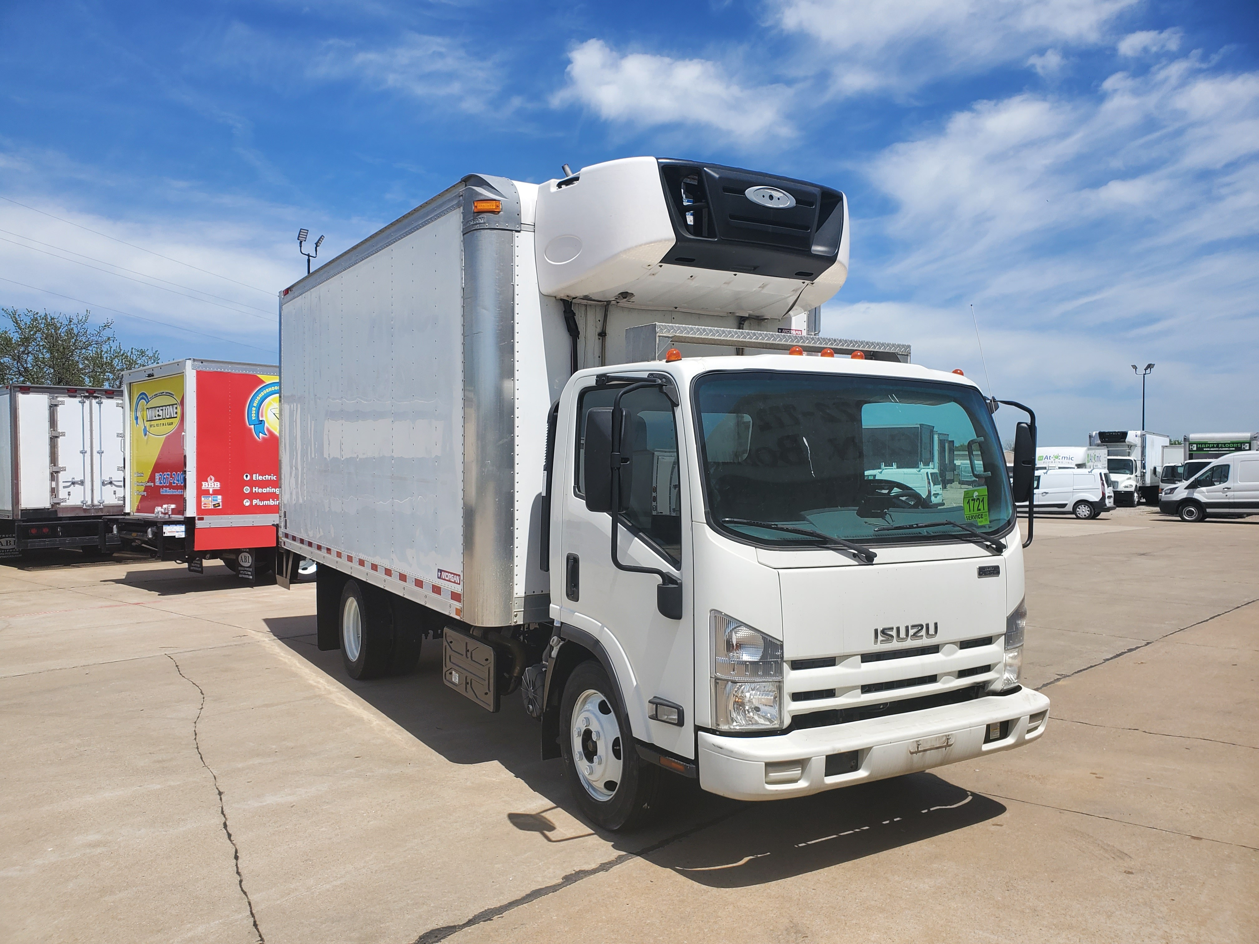 Used, 2015, Isuzu, NPR-XD, Cab / Chassis Trucks