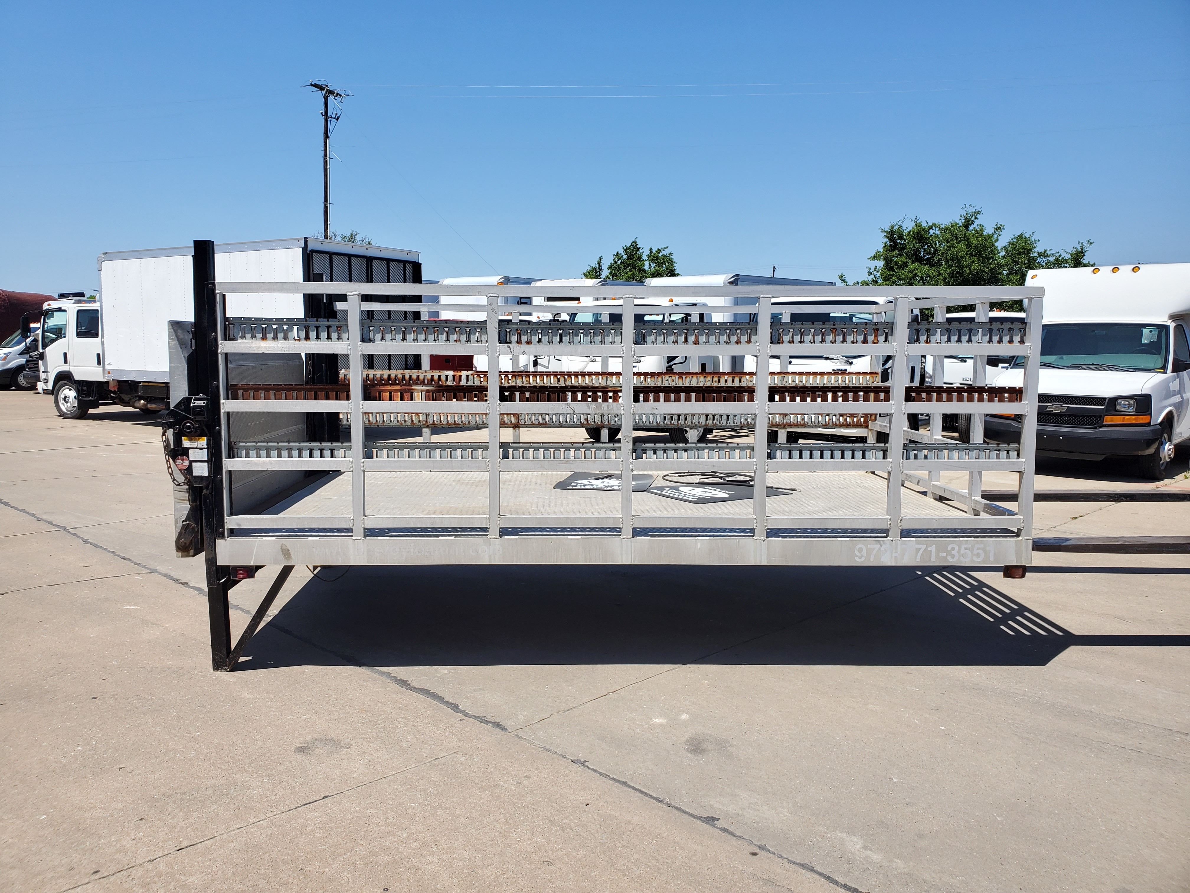 Used, 0, Flats & Bay, 13' ALUMINUM FLATBED, Flatbed Bodies