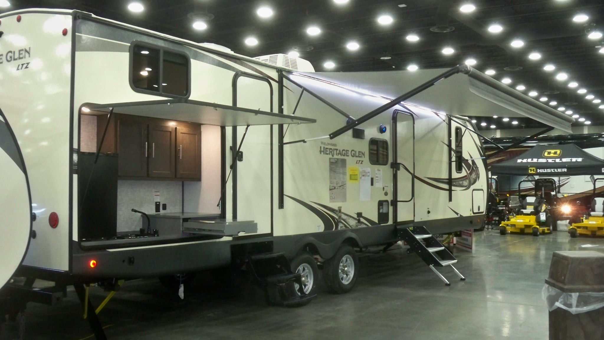 New, 2019, Heritage Glen, 314BUD, Travel Trailers