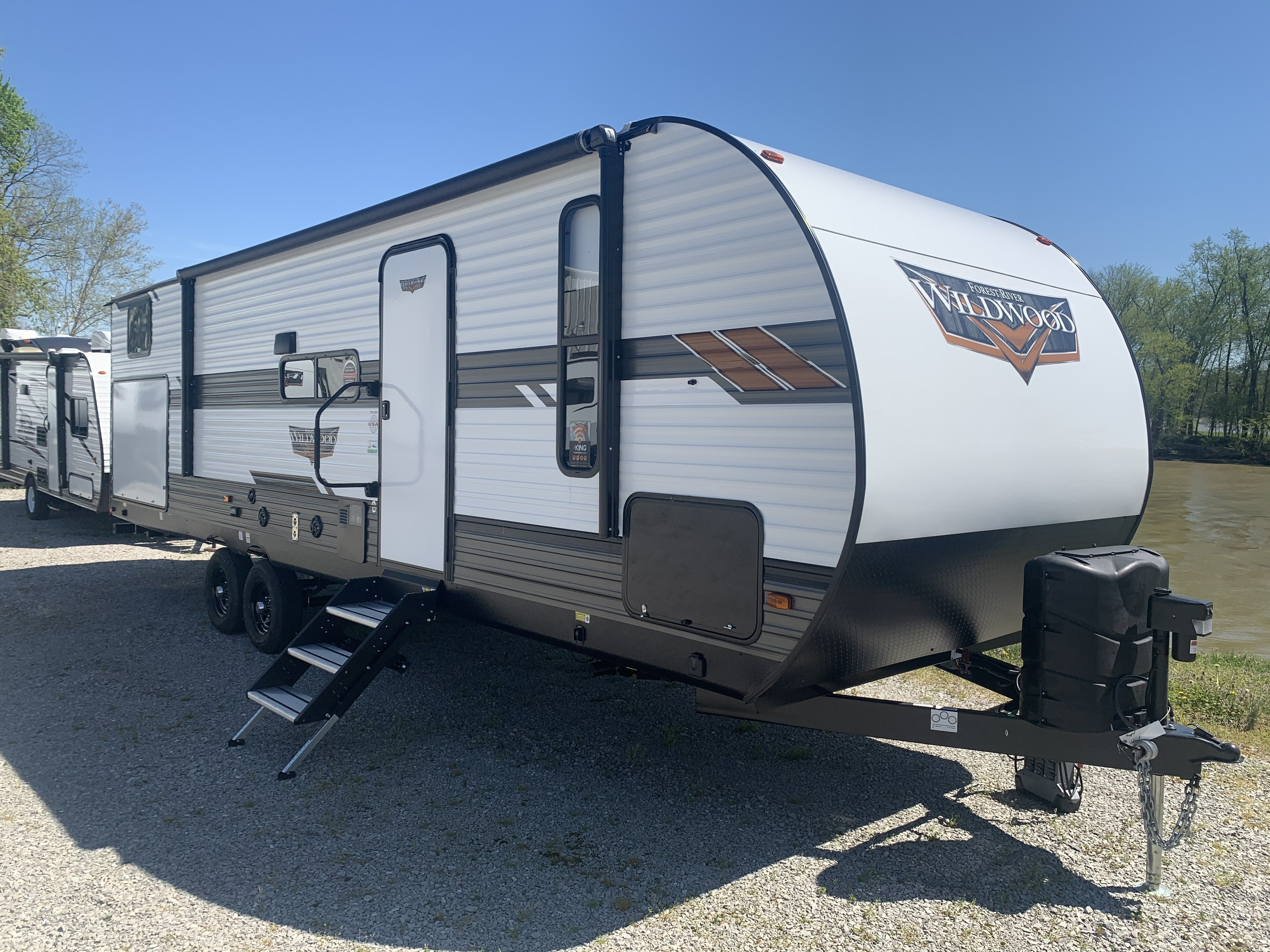 New, 2020, Forest River, Wildwood 30KQBSS, Travel Trailers