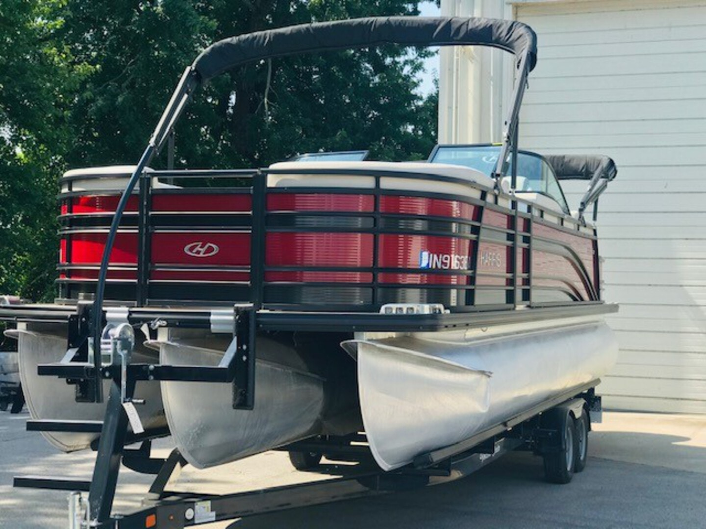 Used, 2018, Harris Flotebote, SOLSTICE 250 DUAL HELM SL  DHSL, Boats