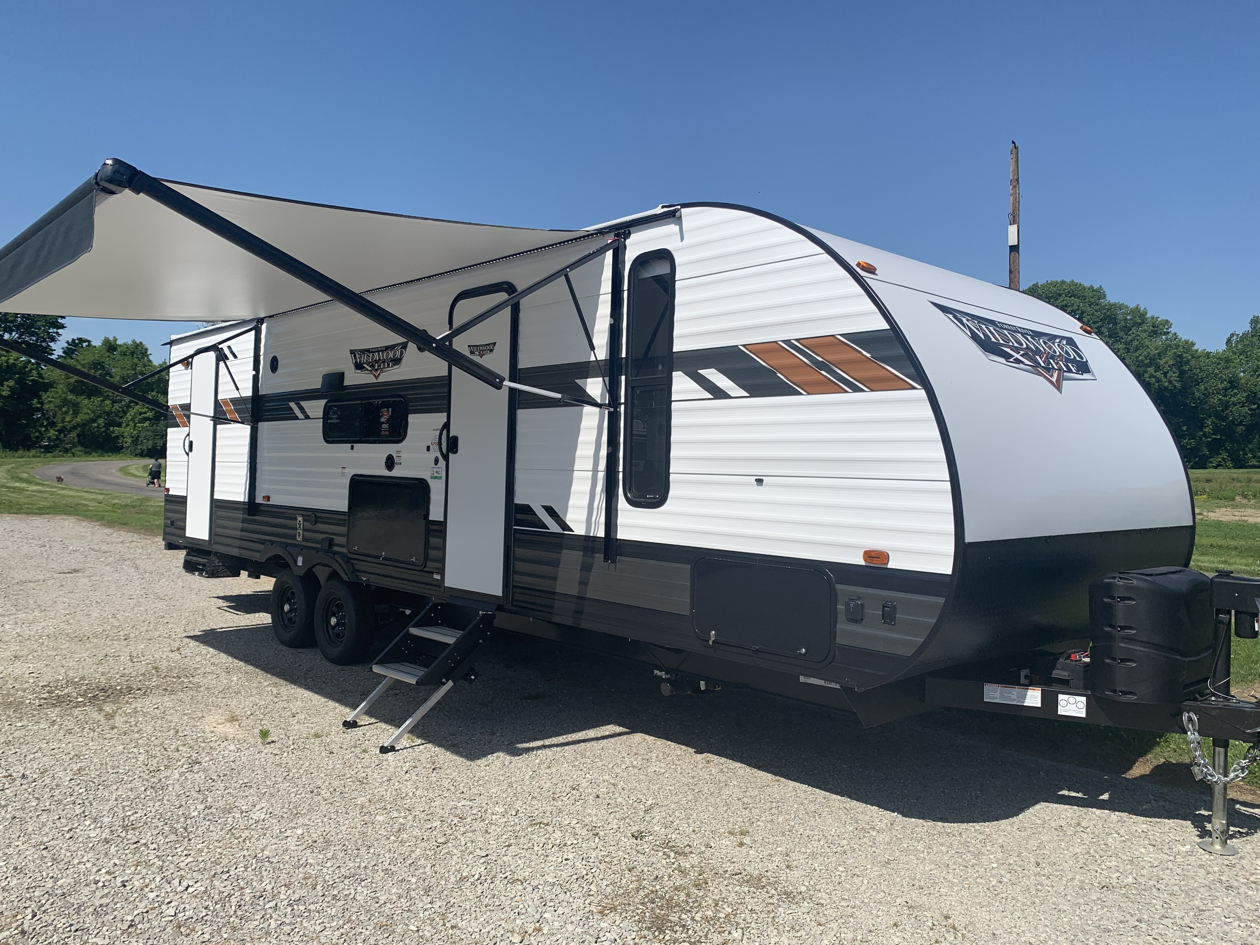 New, 2021, Forest River, Wildwood X-Lite 263BHXL, Travel Trailers