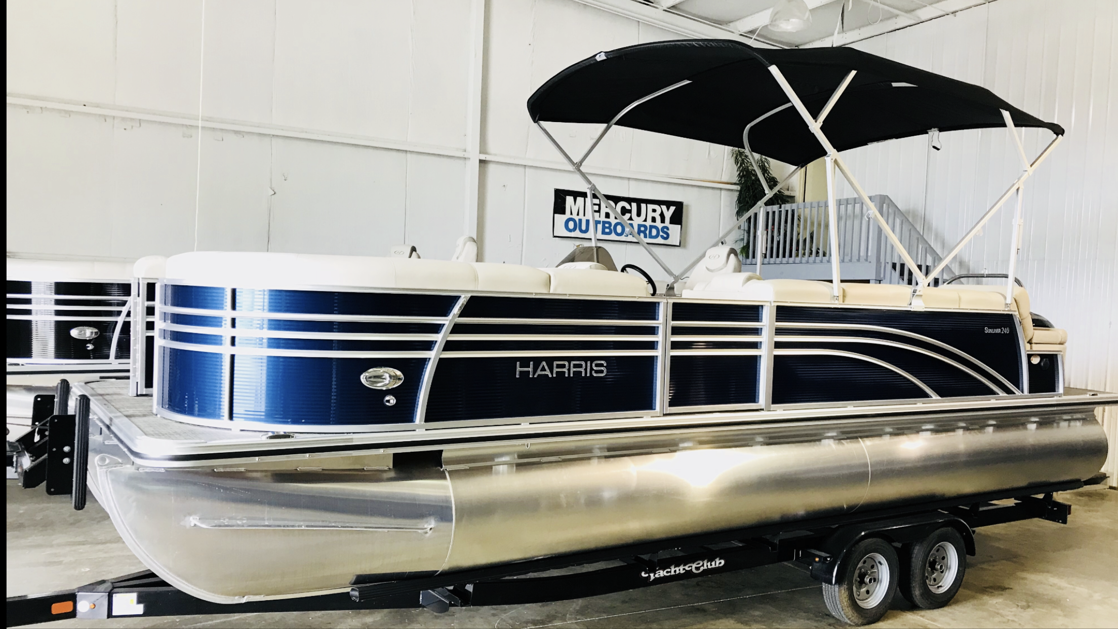 Used, 2018, Harris Flotebote, SUNLINER 240  SL, Boats