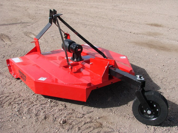 New, 2019, Other, 5' 3 pt Brush Chief Mower, Red, Mowers