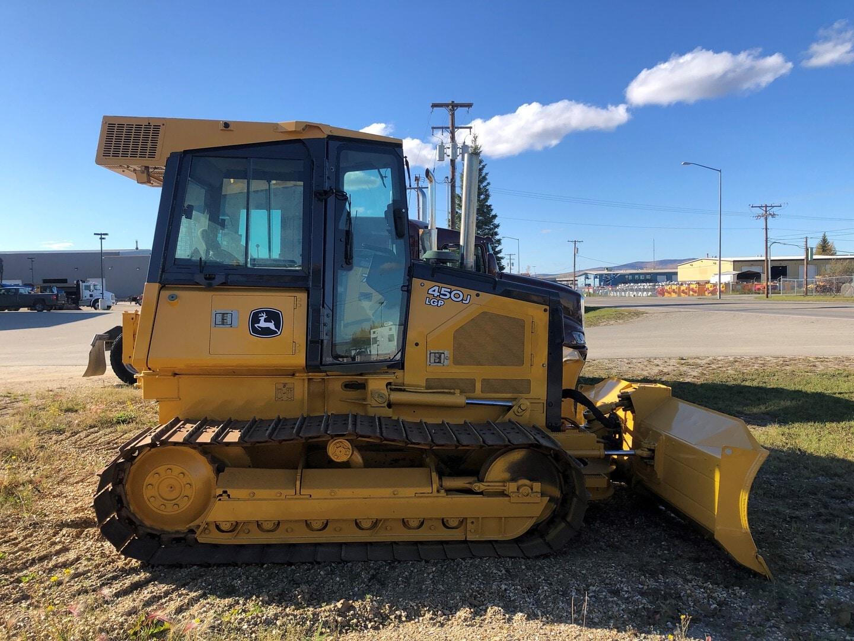 Used, 2011, John Deere Construction, 450J LGP, Bulldozers
