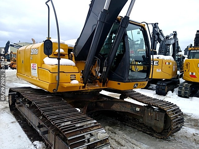 Used, 2011, John Deere Construction, 200D LC, Excavators