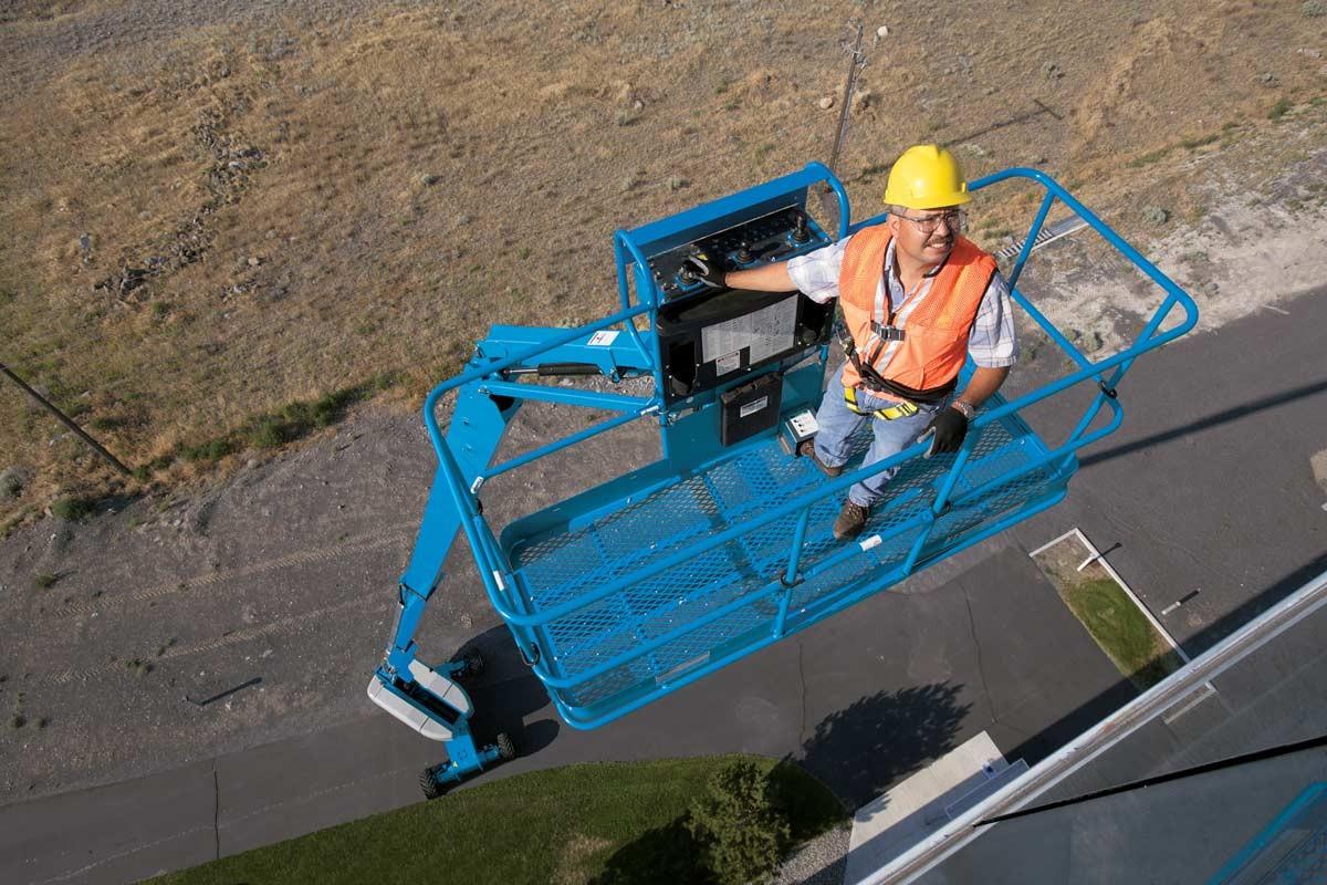 Used, 2006, Genie, S-125, Aerial Work Platforms