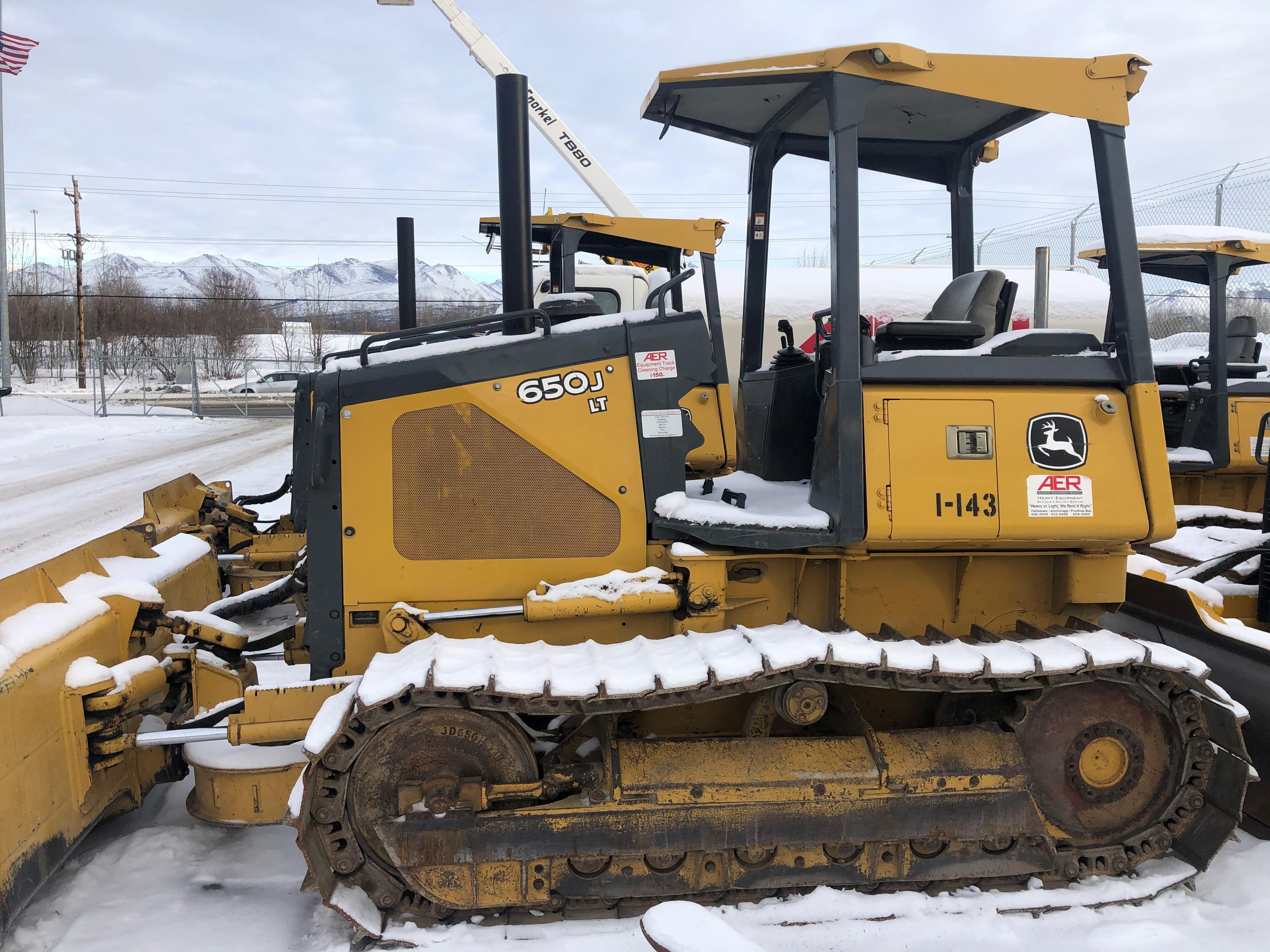 Used, 2005, John Deere Construction, 650J LT, Bulldozers