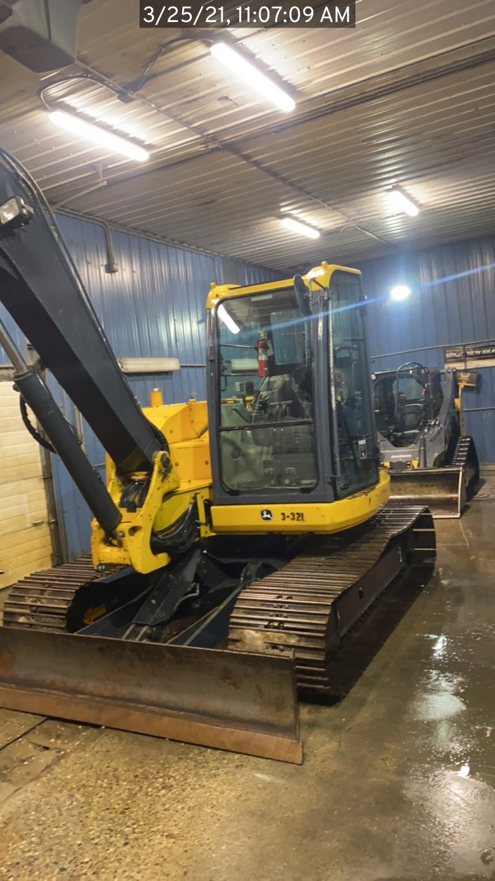 Used, 2011, John Deere Construction, 85D, Excavators